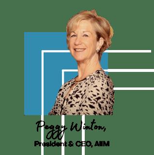 Peggy Winton, President & CEO, AIIM (3)